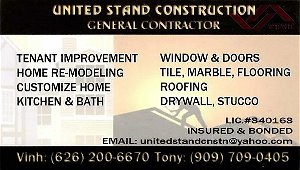 united-stand-construction