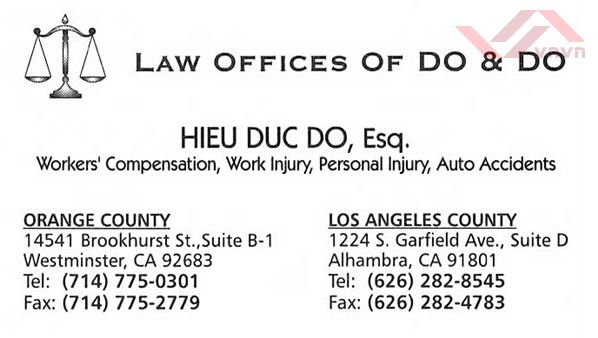 Law Offices of Do & Do - Hieu Duc Do