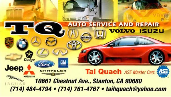 TQ Auto Service and Repair