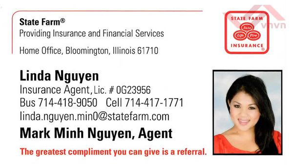 State Farm Insurance - Linda nguyen