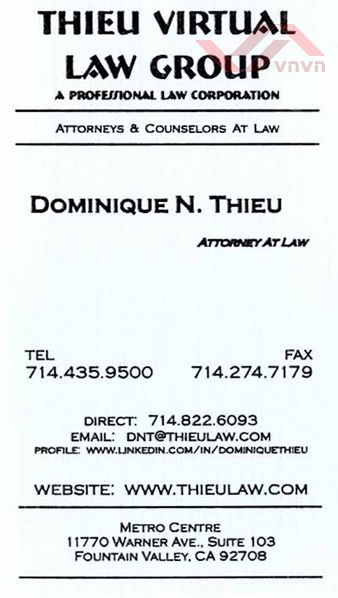 Thieu Virtual Law Group