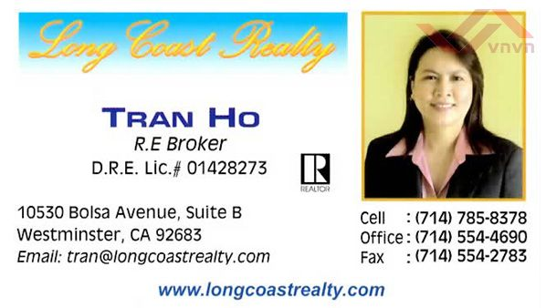 Long Coast Realty - Tran Ho