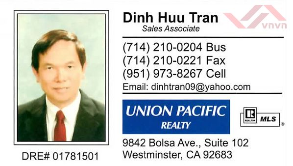 Union Pacific Realty - Dinh Huu Tran