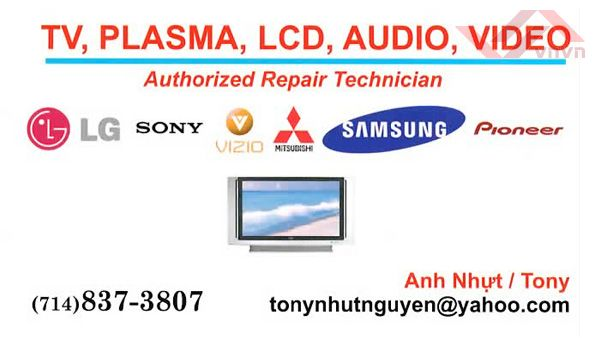 TV Plasma LCD Audio Video