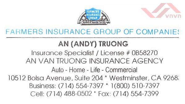Farmers Insurance - An Truong