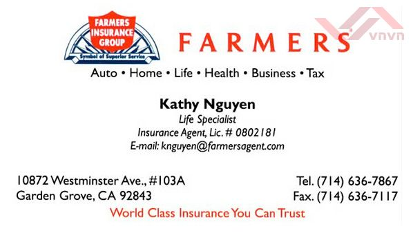 Farmers Insurance - Kathy Nguyen