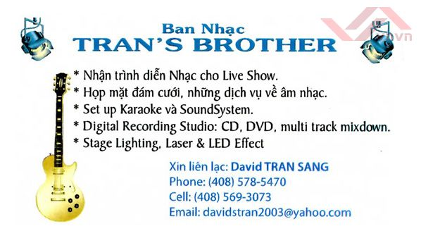 Ban Nhac - Tran's Brother