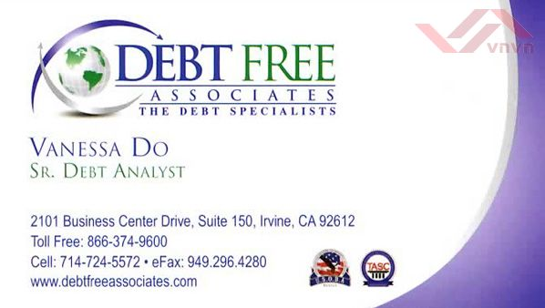 Debt Free Associates - Vanessa Do