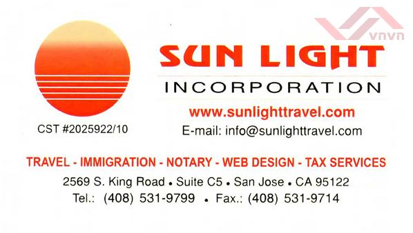 Sun Light Incorporation