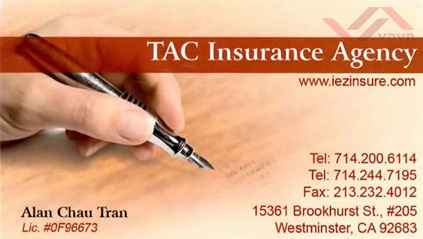 TAC Insurance Agency - Alan Chau Tran
