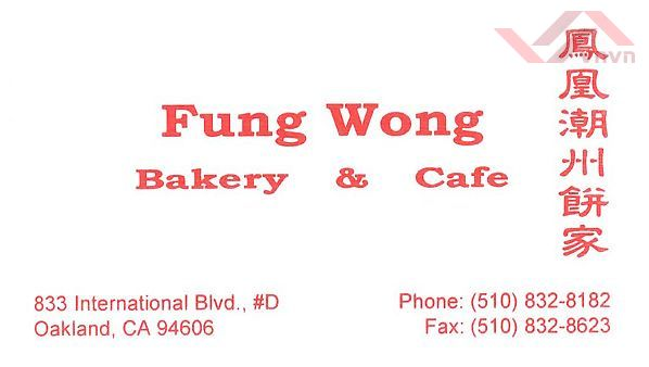 Fung Wong - Bakery & Cafe