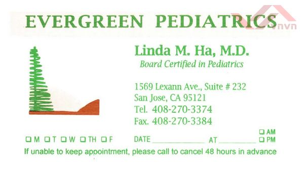 Evergreen Pediatrics - Linda M Ha, MD