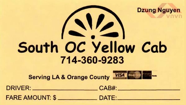 South OC Yellow Cab