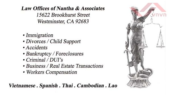 Law Offices Of Nantha & Associates