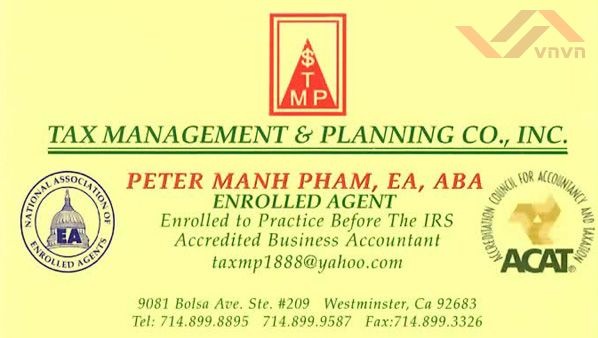 Tax Management & Planning