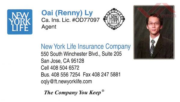 New York Life Insurance - Oai (Renny) Ly