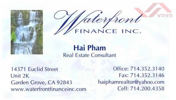 Waterfront Finance Inc