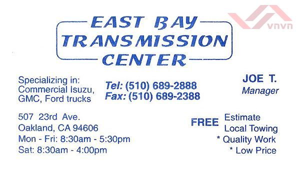 East Bay Transmission Center 2