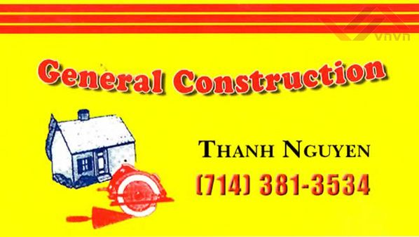 General Construction - Thanh nguyen