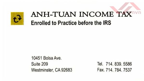 Anh-Tuan Income Tax