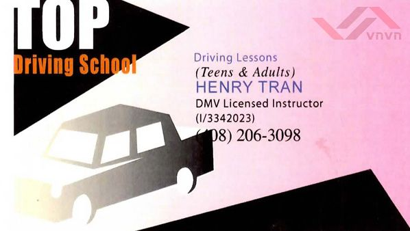 Top Driving School - Henry Tran