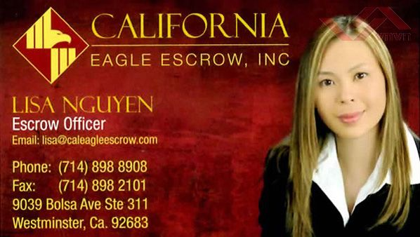 California Eagle Escrow - Lisa Nguyen