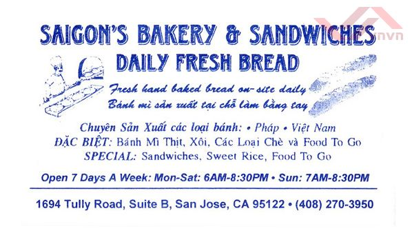 Saigon's Bakery & Sandwiches