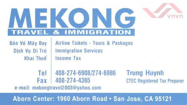 Mekong Travel & Immigration - Trung Huynh