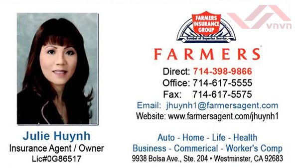 Farmers Insurance - Julie Huynh