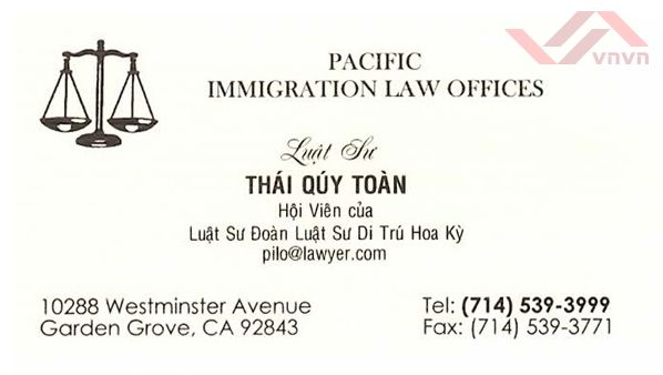 Pacific Immigration Law Offices - LS Thai Quy Toan