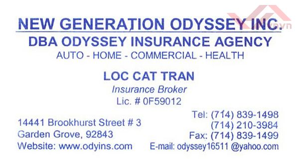 New Generation Odyssey - Loc Cat Tran