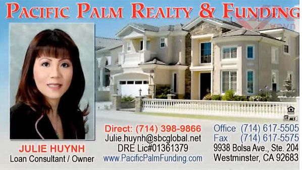 Pacific Palm Realty & Funding - Julie Huynh