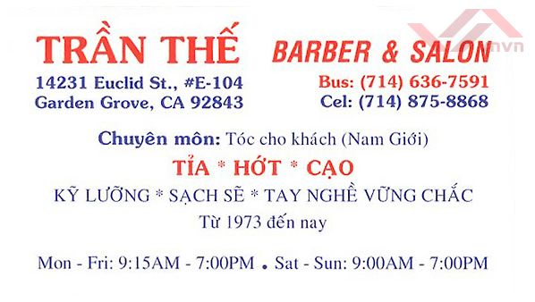 Tran The Barber & Salon