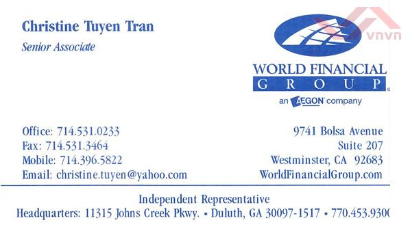 World Financial Group - Christine Tuyen Tran