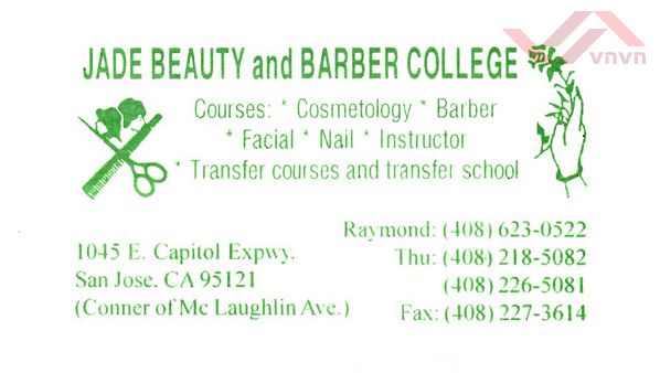 Jade Beauty & Barber College