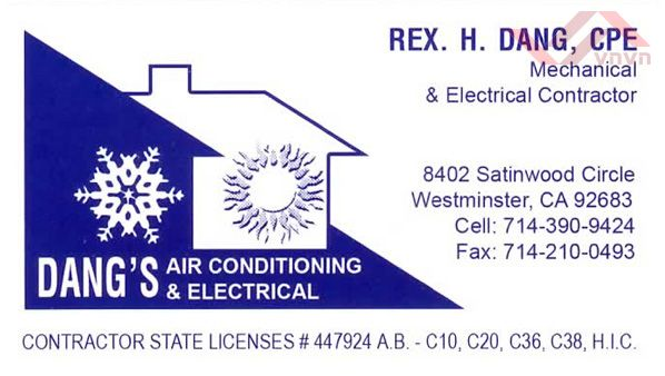 Dang's Air Conditioning & Electrical