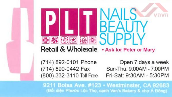 PLT Nails Beauty Supply
