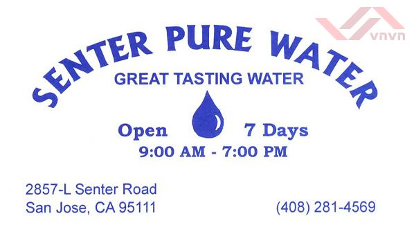 Senter Pure Water