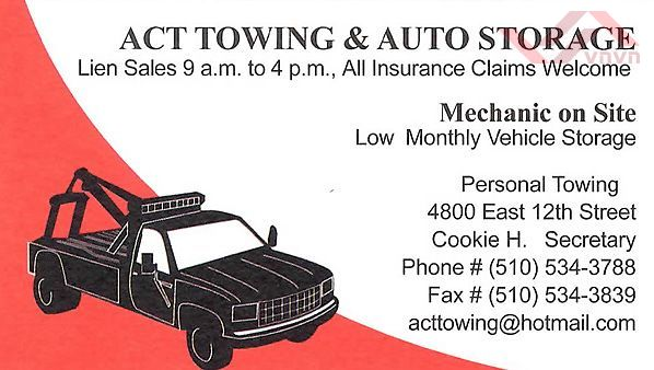 Act Towing & Auto Storage