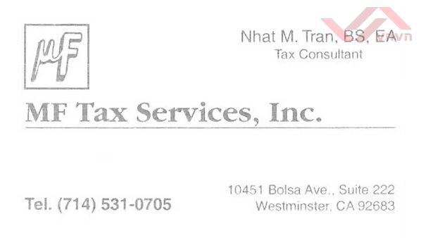 MF Tax Services