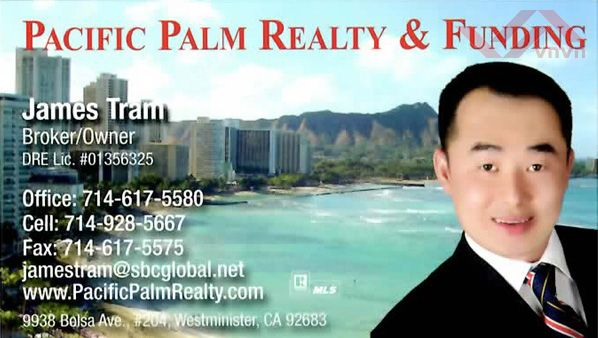 Pacific Palm Realty & Funding - James Tram