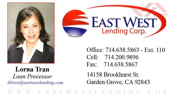 East West Lending Corp - Lorna Tran