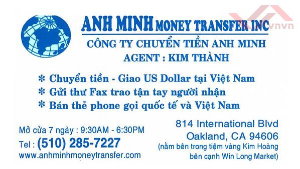 Anh Minh Money Transfer