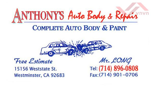 Anthony's Auto Body & Repair